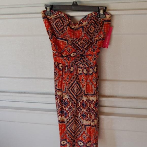 Strapless dress M